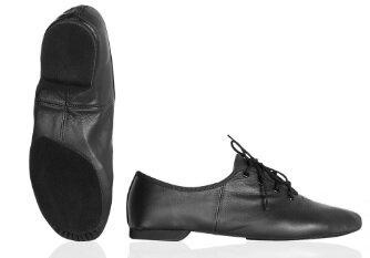 Jazz schoen, split zool chrome