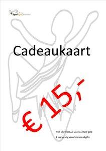 Cadeaukaart SpeelStylDeventer € 15,- euro