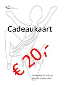 Cadeaukaart SpeelStylDeventer € 20,- euro